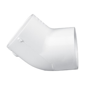 LASCO 2-in dia 45-Degree PVC Sch 40 Elbow
