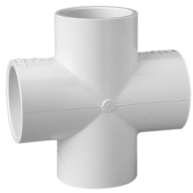 LASCO 1-1/2-in Dia 90-Degree PVC Sch 40 Cross Tee