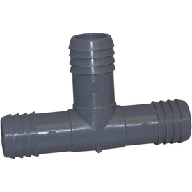 Genova 1-in Dia Tee Plastic Coil Fittings