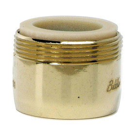 BrassCraft 15/16-in x 27-in Male or 55/64-in x 27-in Female Brass Slotless Aerator Adapter