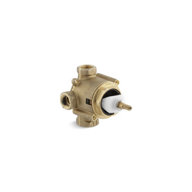KOHLER Brass 3/4-in Male And 1/2-in Sweat Compression Transfer Shower Valve